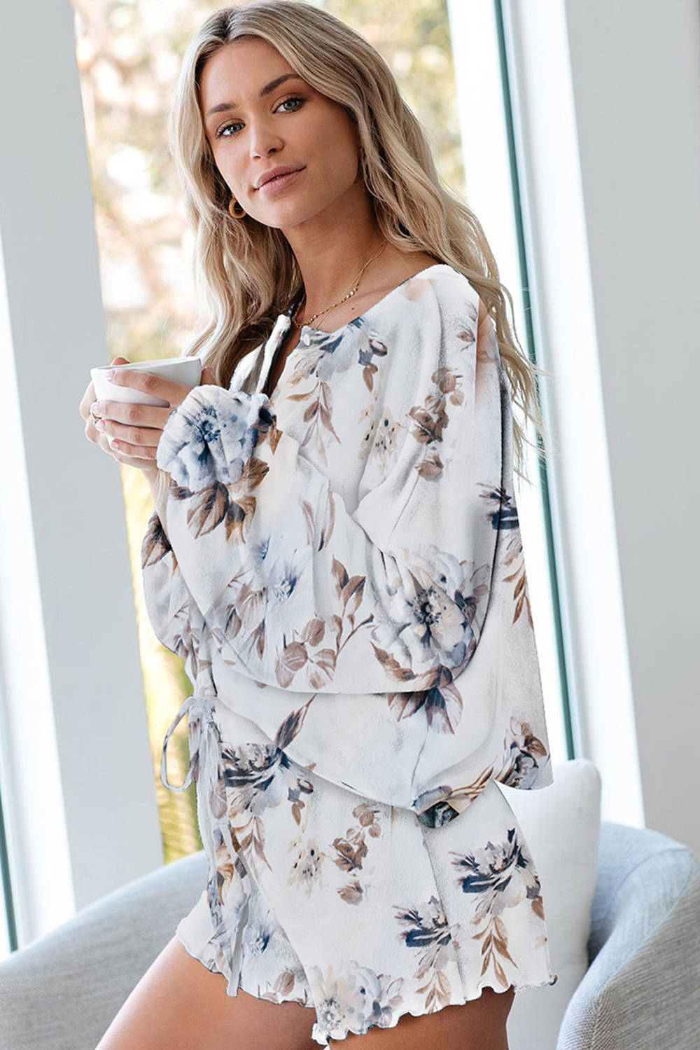 In stock supply ladies loungewear suppliers (2)